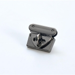 Metal Turn Lock, Triangular, HG, 3.5cm.(ΒΑ000421) Color 01
