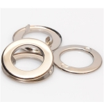 Two-Sided Metal O Rings with Prongs, 15mm (ΒΑ000283) Color Νίκελ /  Nickel