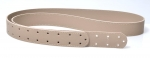 Wide Strap with Holes, 150x3.5cm (ΒΑ000020) Color ΠΟΥΡΟΥ /  BEIGE CIGAR