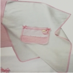 Baby Fleece Cover P1020 Color Ροζ / Pink
