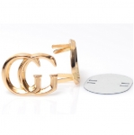 Metal Ornament, Chanel Style with Feet(ΒΑ000410) Color Χρυσό / Gold