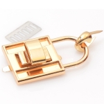 Metal Padlock, Turn Lock, Dolce Style(ΒΑ000263) Color Χρυσό / Gold