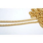 Metal Chain, Chanel Style,34TP(ΒΑ000531) Color Χρυσό / Gold