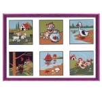 Canvas children Patterns Color 40x60  G43