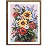 Canvas 45x60 Flowers-Fruits Color 14.787