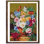Canvas 45x60 Flowers-Fruits Color 14.836
