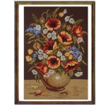 Canvas 45x60 Flowers-Fruits Color 14.848