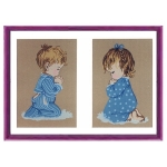 Canvas children Patterns Color 45x60  801-2