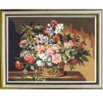 Canvas 60x80 Flowers-Fruits Color 10.529