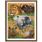 Canvas 60x80 Animals Color 10.542
