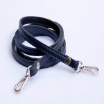 Narrow Eco Leather Strap with Metal Clips, 120cm (ΒΑ000014) Color 01