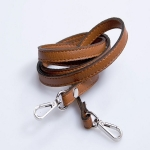 Narrow Eco Leather Strap with Metal Clips, 120cm (ΒΑ000014) Color 03