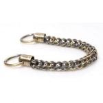 Metal Chain Handle with Rings, Length 36cm (ΒΑ000345) Color Νο2 Μπρονζέ