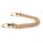 Metal Chain Handle with Rings, Length 36cm (ΒΑ000345) Color No1 Χρυσό