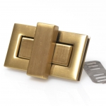 Metal turn lock,rectangular  (ΒΑ000137) Color 04