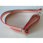 Eco Leather backpack straps 100cm. (0102) Color Pink Gold