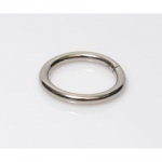 Metal Wire Ring  38mm (ΒΑ000278) Color Νο3 Νικελ
