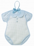 Body birth announcement F1123 Color Γαλάζιο / Light Blue