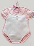 Body birth announcement F1123 Color Ροζ / Pink