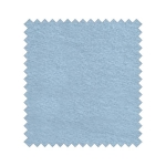 2-seitiges Fluffy Jersey Farbe Σιελ / Light Blue 1,80m