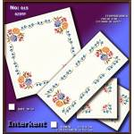 Embroidery Stamped Cloth Napkins ,4 pieces 50x50 cm - Cross-stitch Νο 15 Color 01