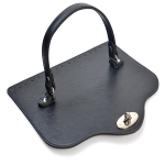 Cover ROYAL, 28cm with Handle(ΒΑ000448) Color Μαύρο / Βlack