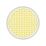 Children fabrics for printed sheets square shape Color Κίτρινο-Λευκό / Yellow-White