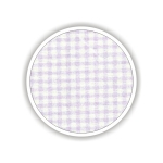 Children fabrics for printed sheets square shape Color Λιλά-Λευκό / Lilac-White