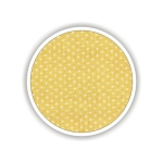 Children fabrics for printed sheets with dots Color Κίτρινο-Λευκό / Yellow-White