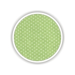 Children fabrics for printed sheets with dots Color Λαχανί-Λευκό / Green-White