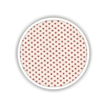 Children fabrics for printed sheets with dots Color Λευκό-Κόκκινο / White-Red