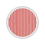 Children fabrics for printed sheets striped Color Κόκκινο-Λευκό / Red-White