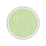 Children fabrics for printed sheets striped Color Λαχανί-Λευκό / Green-White
