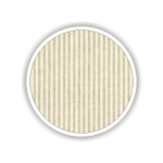 Children fabrics for printed sheets striped Color Μπεζ-Λευκό / Beige-White