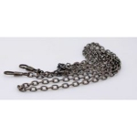 Metal Chain, Ready Made, 120cm, (ΒΑ000106) Color Νο4 Ανθρακί