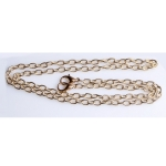 Metal Chain, Ready Made, 120cm, (ΒΑ000106) Color Νο2 Χρυσό