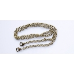 Metal Chain, Ready Made, 120cm, (ΒΑ000106) Color Νο3 Μπρονζέ