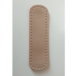 Eco Leather base for handmade bags Oval 32X9,5cm. (0203) Color Χρυσό