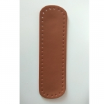 Eco Leather base for handmade bags Oval 32X9,5cm. (0203) Color Ταμπά