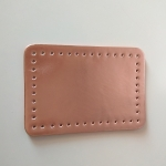 Eco Leather base for handmade bags 20,5Χ14εκ. (0202) Color Pink Gold