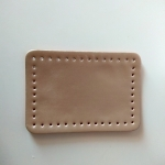 Eco Leather base for handmade bags 20,5Χ14εκ. (0202) Color Χρυσό
