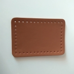 Eco Leather base for handmade bags 20,5Χ14εκ. (0202) Color Ταμπά