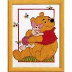 Cross stich kit frame Disney 13x18cm Color 19024/2575