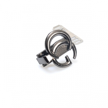 Metal Clip Closure with Mechanism, 3cm without Screws, Chanel(BA000573)