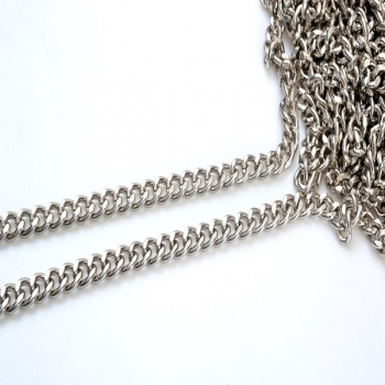 Metal Chain, Chanel Style,34TP(ΒΑ000531)