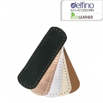 Eco Leather base for handmade bags Oval 32X9,5cm. (0203)