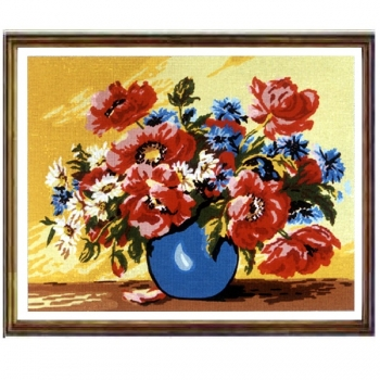 Canvas 50x60 Flowers-Fruits