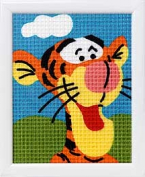 Cross stich kit frame Disney 12,50x16cm