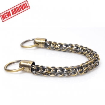 Metal Chain Handle with Rings, Length 36cm (ΒΑ000345)