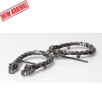 Metal Ornament, Snake, Gucci Style, 8cm (ΒΑ000420)
